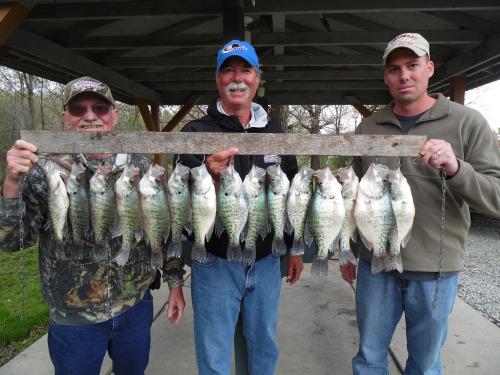 Fishing report for april 28 2016 explore mark twain lake for Mark twain lake fishing report
